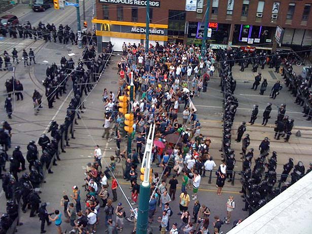Toronto G20 June 2010 Protest, News, Links Video, Archive